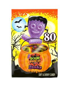 Sour Patch Kids Zombie Halloween Candy