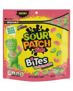 SOUR PATCH KIDS Bites Watermelon Soft & Chewy Candy