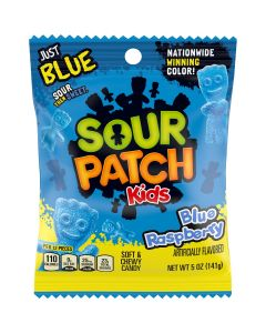 Sour Patch Kids Just Blue Raspberry