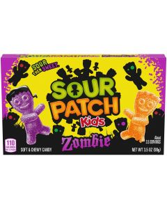 SOUR PATCH KIDS Zombie Halloween Candy, 1 - 3.5 oz Box