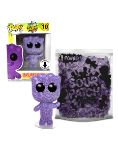 Exclusive SOUR PATCH KIDS FUNKO POP! Grape & 1lb Grape SOUR PATCH KIDS Candy