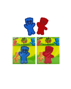 SOUR PATCH KIDS Embroidered Patch - Red & Blue Kid