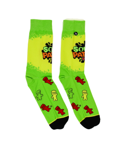 Sour Patch Kids Logo Character Socks