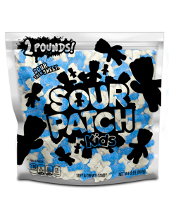 Bulk blue raspberry and pineapple flavor sour patch kids