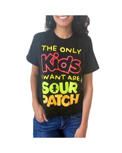 "SOUR PATCH KIDS ""The Only Kids I Want"" Crop Tee"