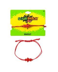 SOUR PATCH KIDS Red Cord Bracelet