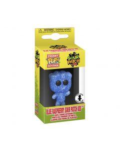 Exclusive Pocket POP! SOUR PATCH KIDS Funko Keychain - Blue Raspberry