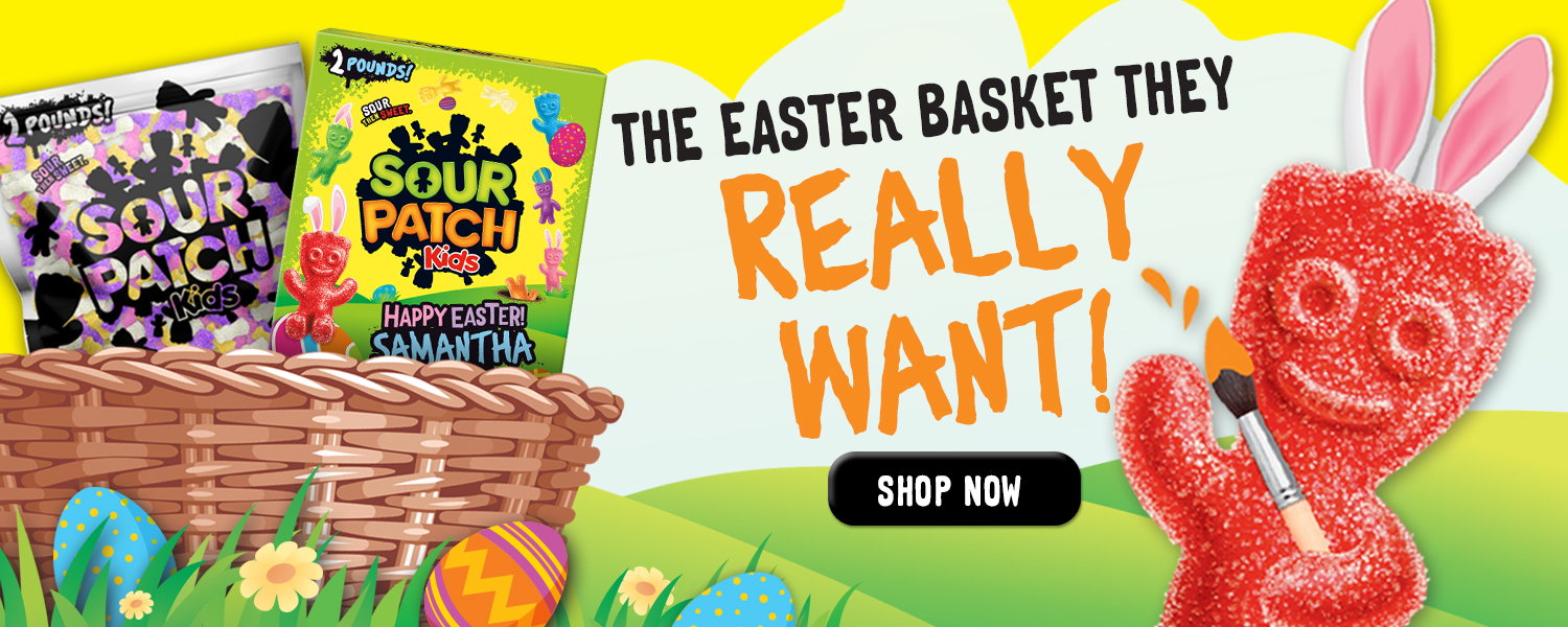 Easter Candy and Gift at SOURPATCHKIDS.com