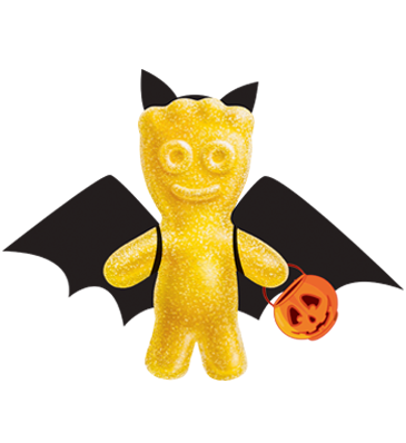 SOUR PATCH KIDS Yellow Bat