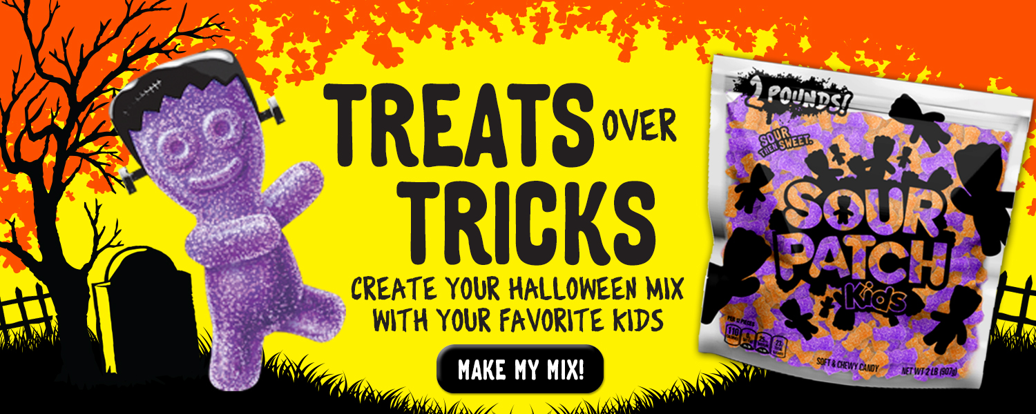 Treats Over Tricks...Create Your Halloween Mix With Your Favorite KIDS
