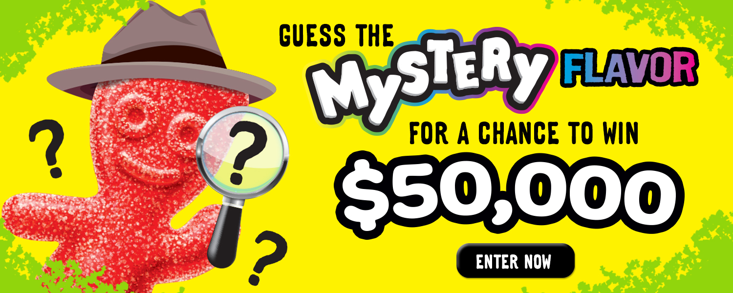 Guess the Mystery Flavor from SOURPATCHKIDS.com
