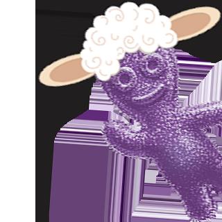 SOUR PATCH KIDS Purple