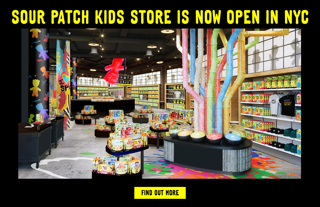 SOUR PATCH KIDS Store in NYC is Now Open