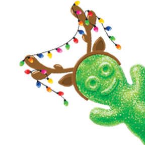 SOUR PATCH KIDS Green Reindeer