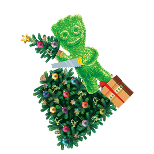 SOUR PATCH KIDS Green Christmas Tree