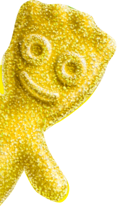 SOUR PATCH KIDS Yellow
